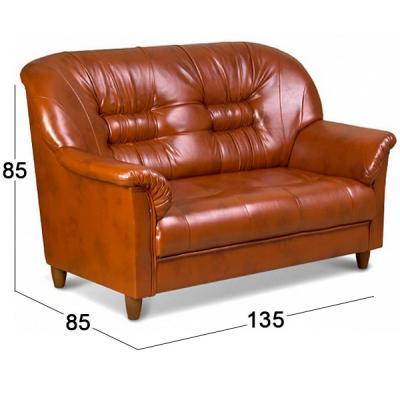 """Двухместный диван для офиса """"Виктория"""""""