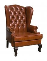 Каминное кресло с ушами Винтаж